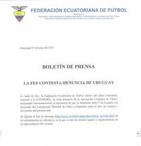 Boletin prensa fef