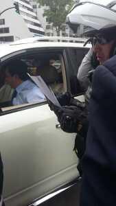 Joselito Cobo y Policia