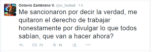 Octavio Zambrano tweet 2