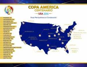 Copa America Centenario Sedes