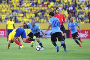 Ecuador vs Uruguay eliminatorias