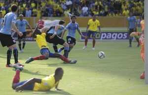 Ecuador vs. Uruguay