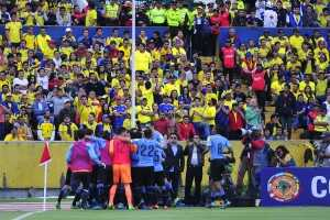 Gol Uruguay