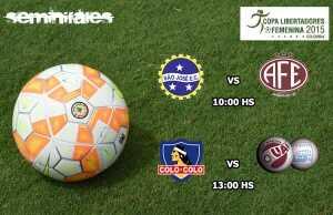 Horarios Semi Copa Libertadores Fem