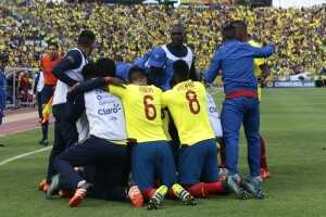 Noboa y Caicedo festejan gol