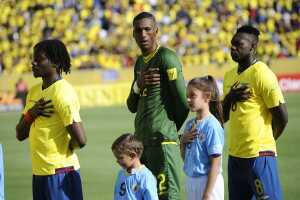 Paredes, Domínguez y Caicedo himno nacional