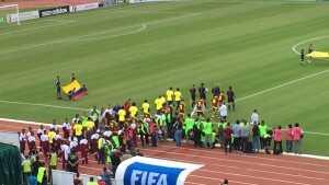 Salida de equipos Ecuador