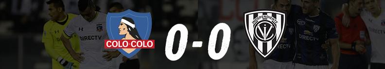 Colo Colo 0 - IDV 0 Fase de Grupos