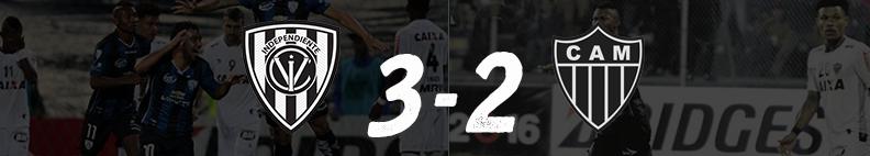 IDV 3 - Atlético Mineiro Fase de Grupos