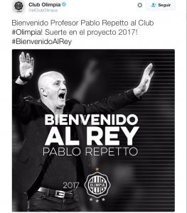 Pablo Repetto Olimpia