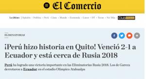 El Comercio - Perú