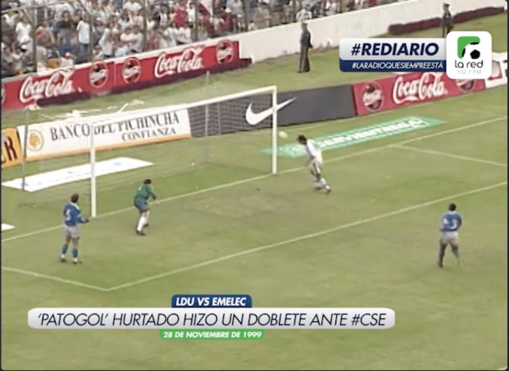 #REDiario | NOV99 | ¡'Patogol' Hurtado le marcó un doblete al #CSE!