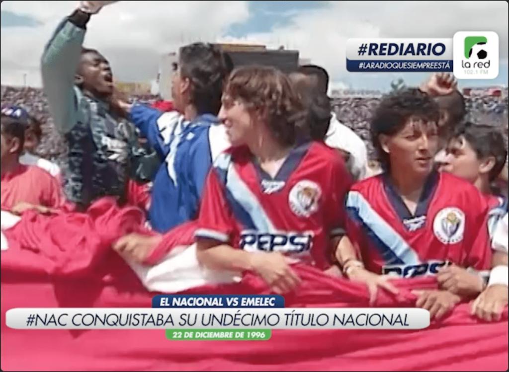 #REDiario | DIC96 | ¡El Nacional conseguía su undécimo título!