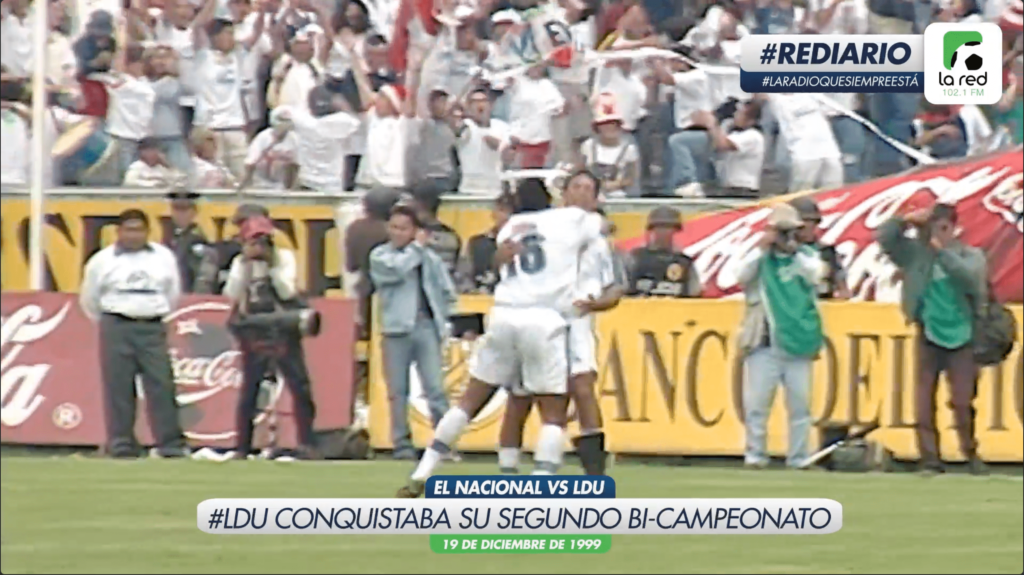 #REDiario | DIC99 | ¡Liga Deportiva Universitaria conseguía su segundo bi-campeonato!