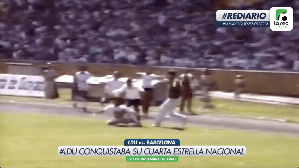 #REDiario | DIC90 | ¡Liga Deportiva Universitaria se coronaba campeón después de 15 años!